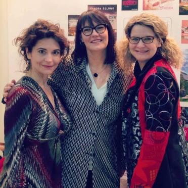mit meinen Kolleginnen Anna Martens und Beate Böker beim Meet & Greet von Midnight by Ullstein